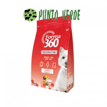 FORMA 360 ADULT MINI AGNELLO E RISO KG 1,8