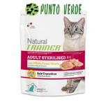 NATURAL TRAINER STERILISED CAT CARNI BIANCHE GR. 300