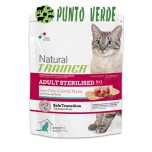 NATURAL TRAINER STERILISED CAT PROSCIUTTO CRUDO GR. 300