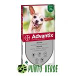 Bayer Advantix Spot-On fino 4 KG - 1 Pipetta