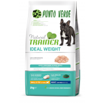NATURAL TRAINER SMALL TOY ADULT IDEAL WEIGHT CARNI BIANCHE 2 KG
