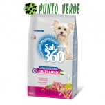 SALUTE 360 ADULT MINI TURKEY & BARLEY GR 800